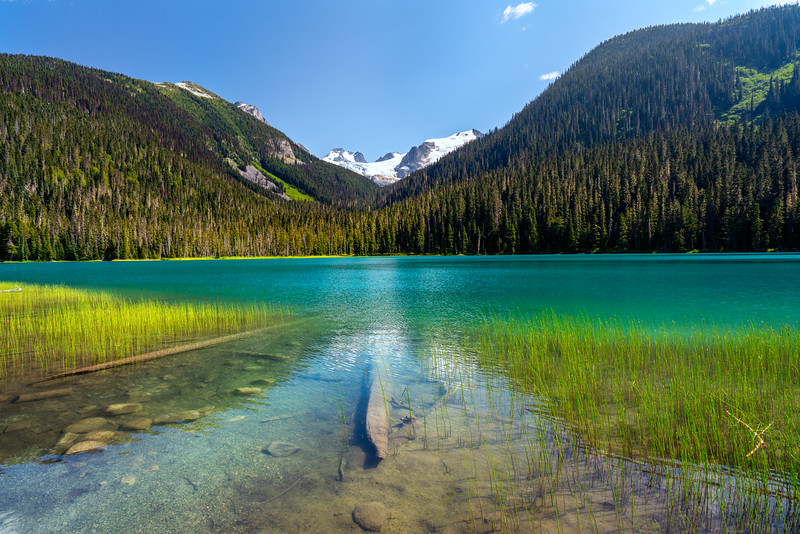 Lower Joffre Lake and the Matier Glacier