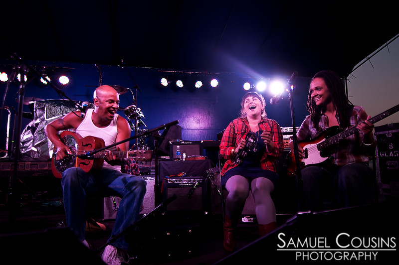 Samuel James and friends playing on the Maine State Pier