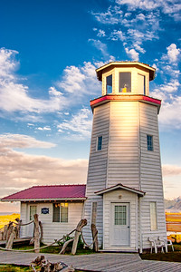 Lighthouse on Homer spit