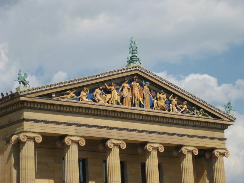 Fine Detail, Philadelphia Art Museum I - Philadelphia Pennsylvania