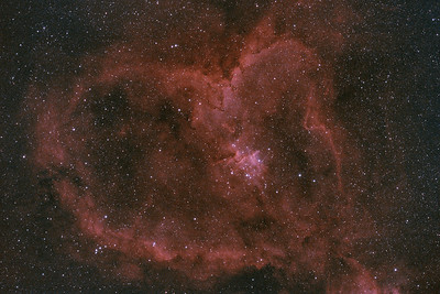 IC1805 | Heart Nebula (H-alpha / OIII)