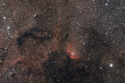 Sh2-101   The Tulip nebula