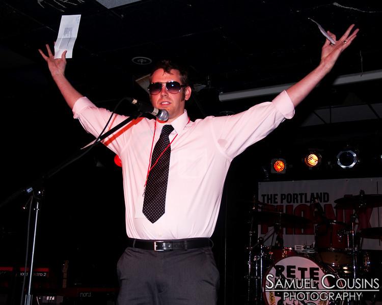Sam Pfeifle at the Phoenix Best of Music awards