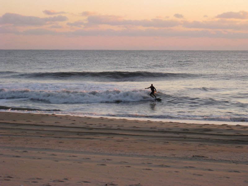 Surfer Silhouette II, Ocean City Maryland