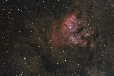 NGC7822 | Star forming region (H-alpha / OIII)