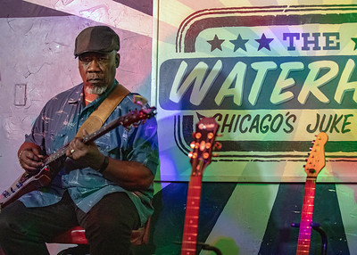 Bass Player @ The Water Hole, Chicago