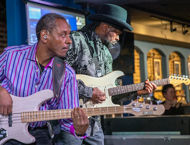 Orlando Wright (l) and Rick Hall @ Buddy Guy's Legends