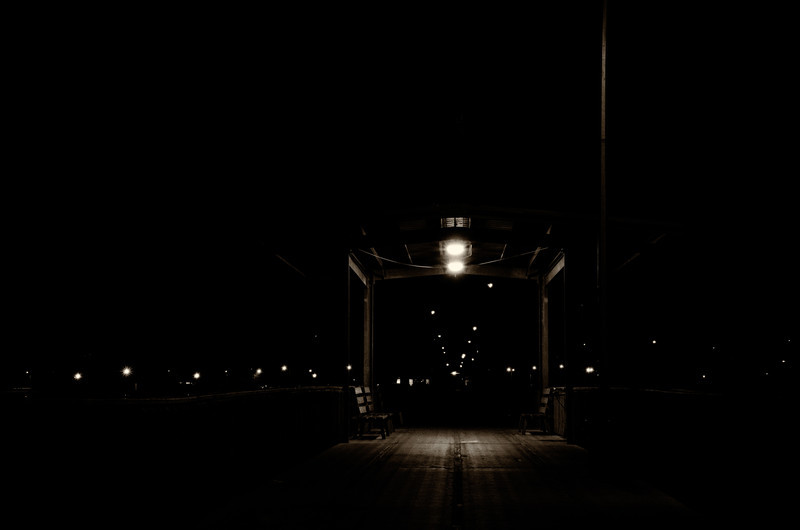 Lonely Pier Walk