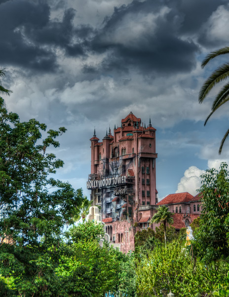 A handheld capture from the other side of Hollywood Studios, near the entrance to the Indiana Jones attraction<br /> <br /> from the Photoblog: www,graffitivisuals.com