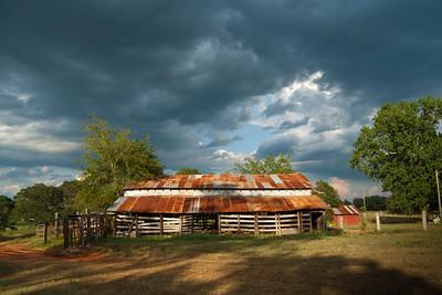 John and Edna Hancock Farm, Nacogdoches County, Texas, July 16, 2011