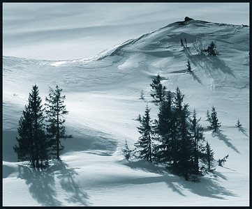 Fjellside Blåfjell, Nes februar-2020