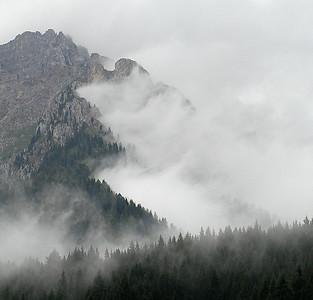Tåkefjell Dolomittene, Italia 15.7.20