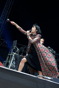 Bat for Lashes @ Bestival 2012