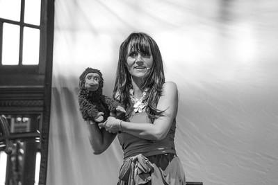 Nina Conti at Bestival 2014