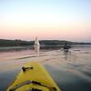 paddling...