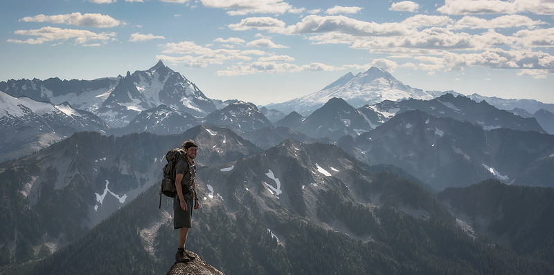 Climbing in the North Cascades of Washington