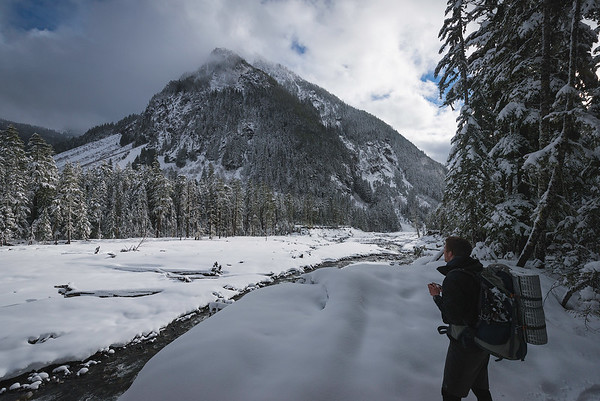 Backpacking at Mount Rainier