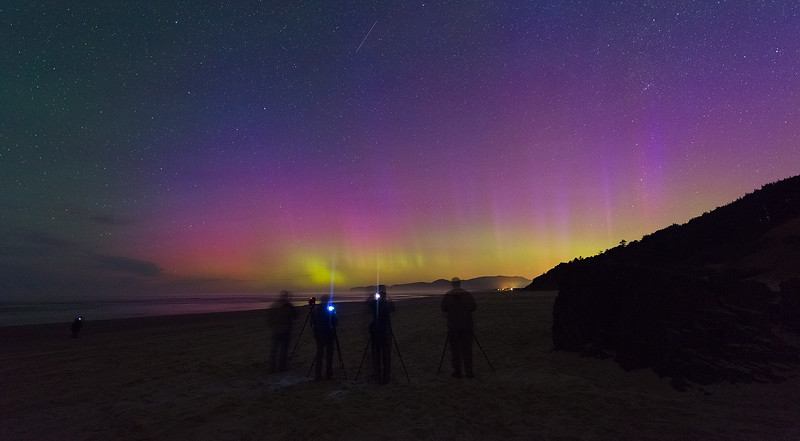 Northern Lights in Southern Oregon - We Got Lucky on One of My Tours!