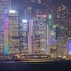 Just After Sunset in Hong Kong, China