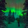 Paul Weeks Shooting the Northern Lights in Alaska - November, 2014