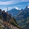 My Brother Lee & I Hiking in Glacier National Park, MT