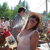 July 3rd - High Sierra Music Festival!  Little Billy giving Kate a ____