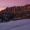 Twilight in the Needles District - Canyonlands, Utah