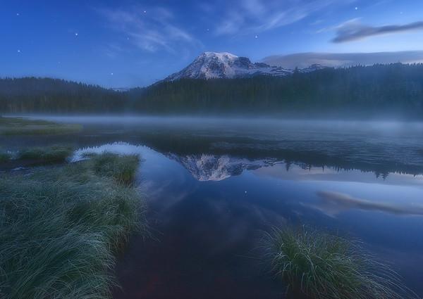 Twilight Voodoo - Mount Rainier, Washington