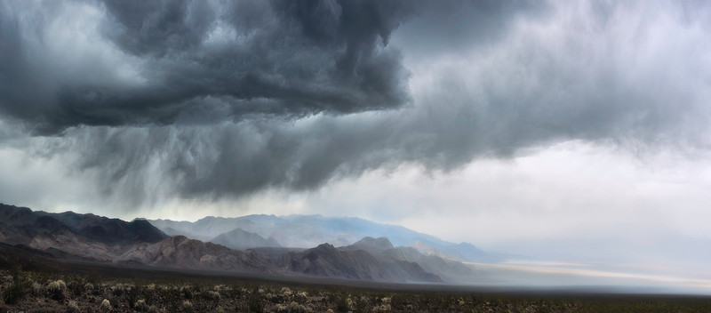 Thunderheads in Death Valley - California