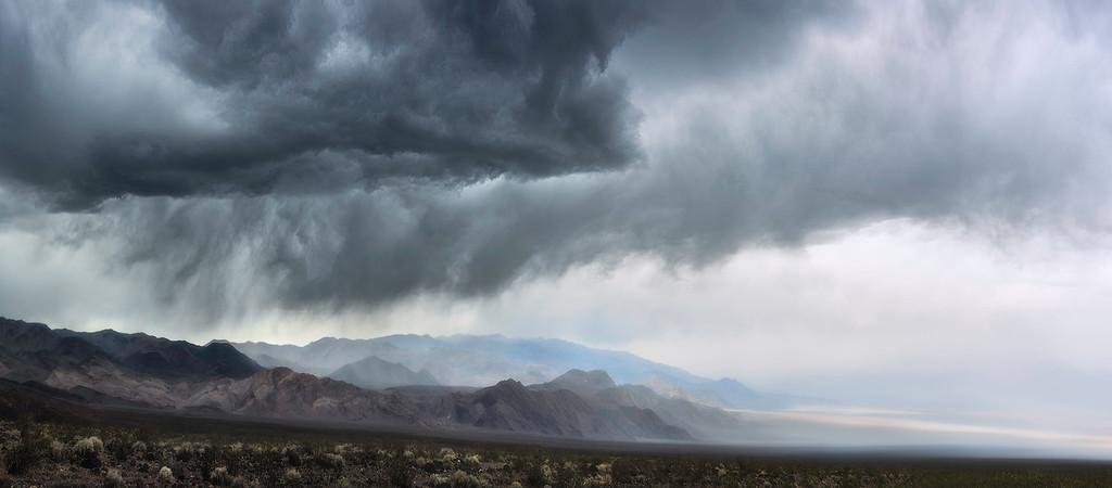 Thunderheads in Death Valley - California