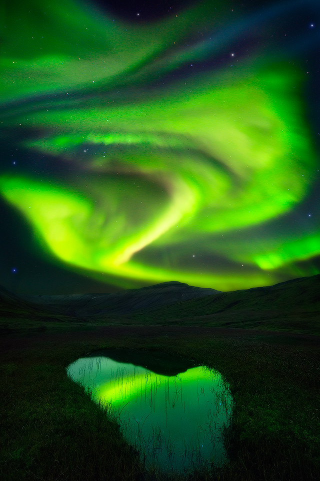 Aurora, Godess of Dawn - East Fjords, Iceland