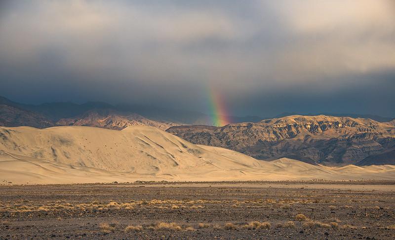 Rainbows & Thunderstorms - Death Valley, California