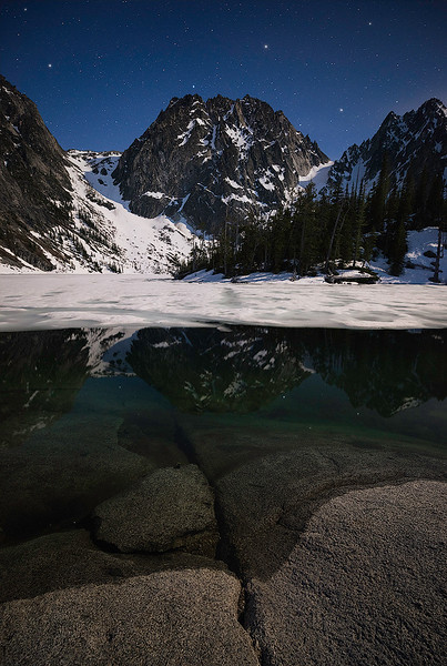 Moonlight & Stars in the Alpine Lakes Wilderness - Washington State