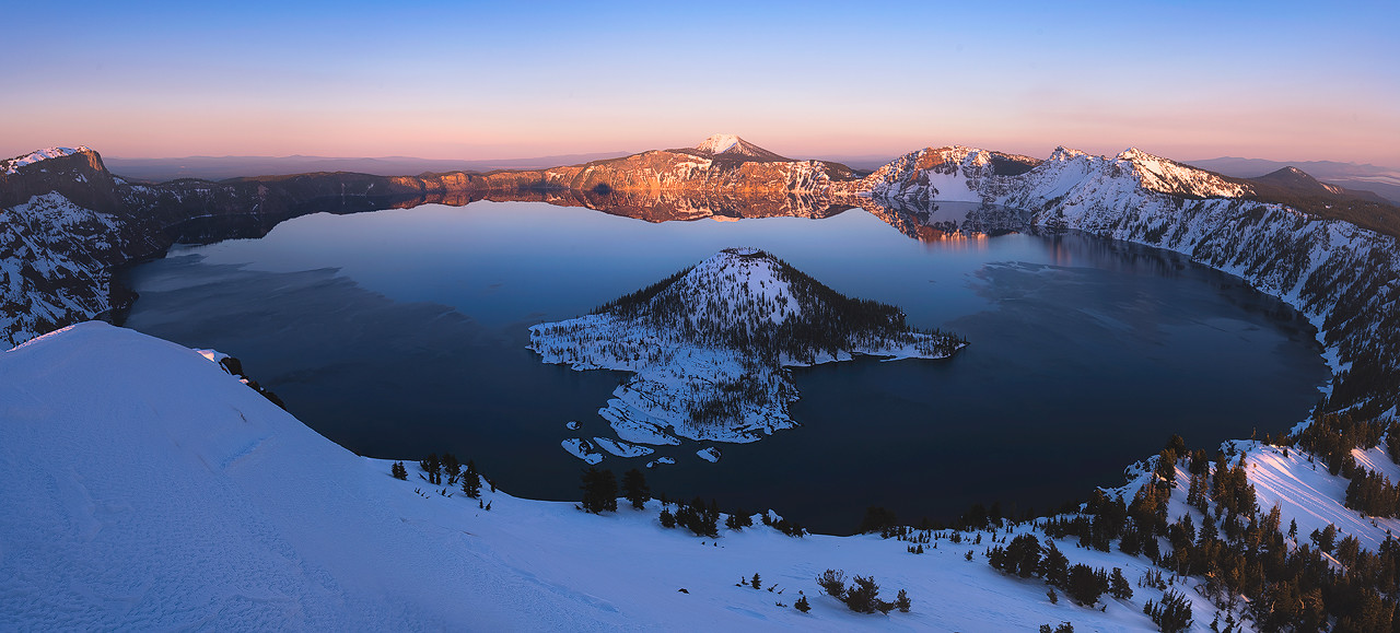 The Watchman - Crater Lake National Park, Oregon