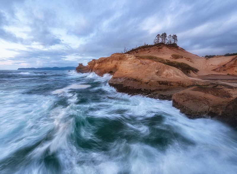 Churn - Cape Kiwanda, Oregon