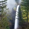 Follow the Leader - Elowah Falls, Oregon