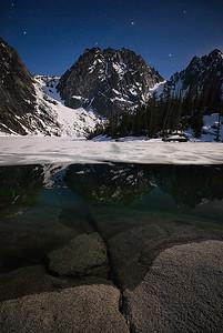 Moonlight & Stars in the Alpine Lakes Wilderness - Washington State