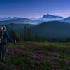 Backpacking in the Super Moon Light - Mount Baker Wilderness, Washington