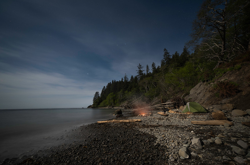 Camping on the Wilderness Coast of Washington State