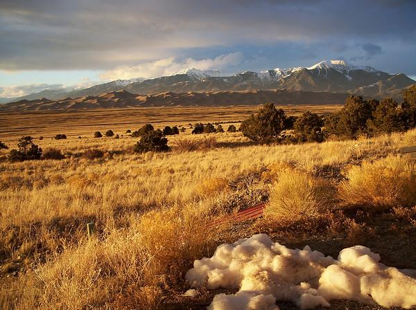 Grand Sand Dunes National Park Colorado