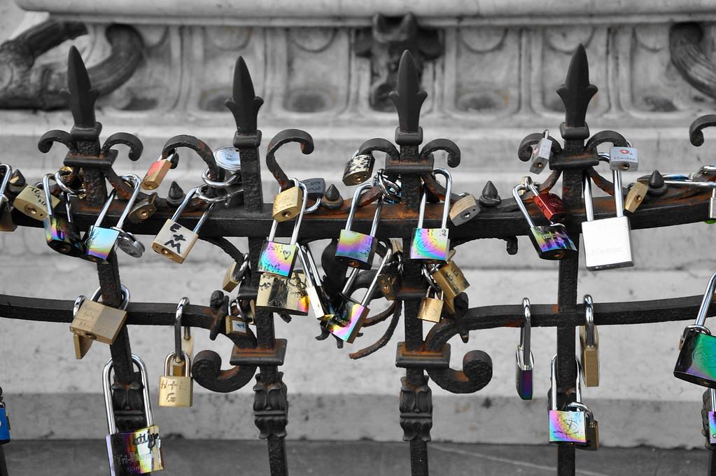 Love Bridge, Florence Italy