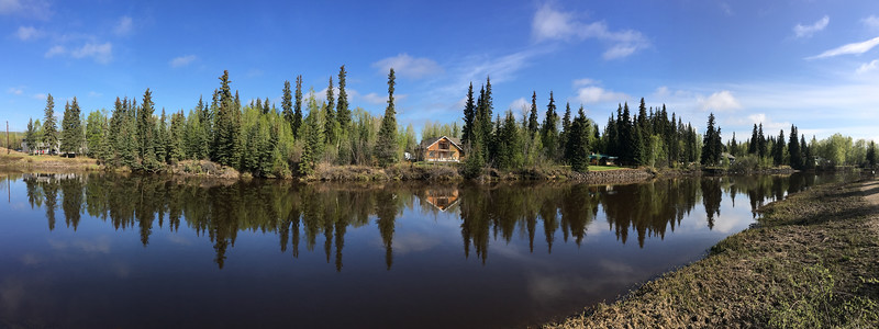 Chena River  Fairbanks, Alaska