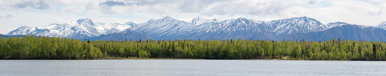 Lake Lucille panorama  Wasilla, Alaska