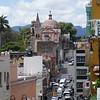City Street in Cuernevaca, Mexico