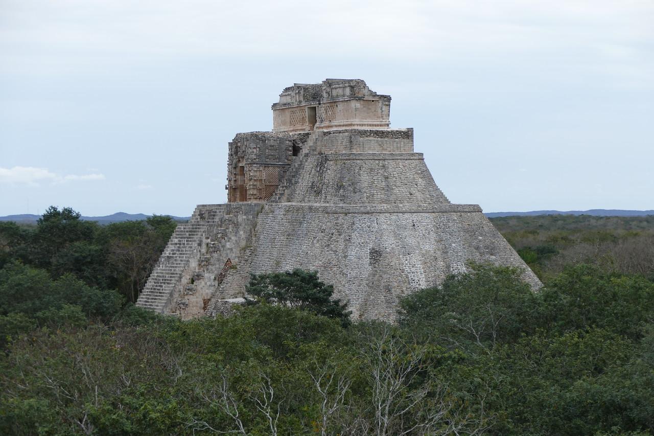 Ruins built circa 900AD in Uxmal, Mexico