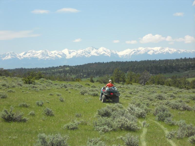 Weed spraying at Ranch 018
