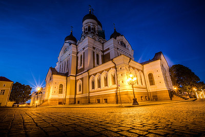 Alexander Nevsky Cathedral - Talinn Estonia