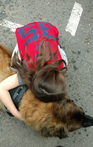 And then at the end of our visit, number 35 gave me the sweetest hug.  My day was complete!
