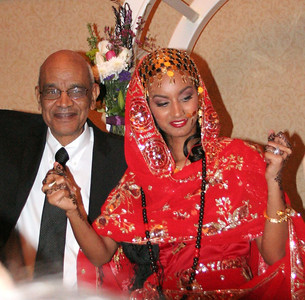 Egyptian Wedding reception