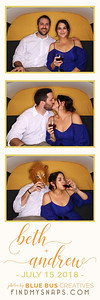 We had an awesome time snapping photos and celebrating Beth & Andrew's wedding! Congrats to the newlyweds!  Love this photo? Head to findmysnaps.com/Beth-Andrew to order prints and more!  Looking for an awesome photo booth for your next event? Head to bluebuscreatives.com for more info.